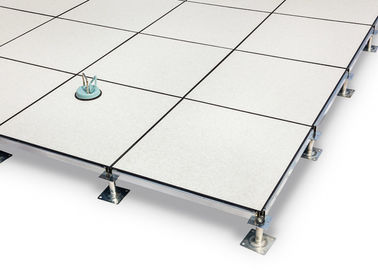 China PVC Covering All Steel Anti Static Raised Flooring supplier