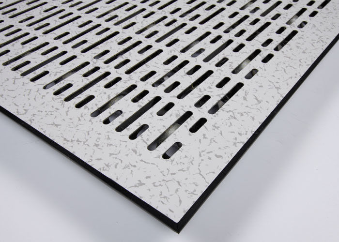 PVC Perforated Raised Floor  Perforated Metal Floor 20%-90% Ventilation Rate