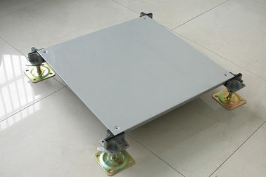 Anti - Wear Raised Floor Tile Systems OA-600 Steel Office Network Raised Floor