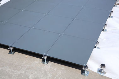 Cement Outdoor OA Floor Raised Flooring System All Steel 500×500×28 Mm