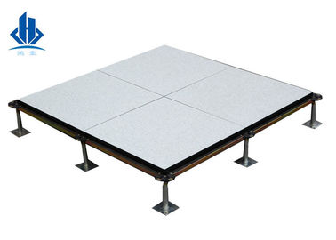 Core Edge Banded Calcium Sulphate Raised Access Floor Panles Anti - Static